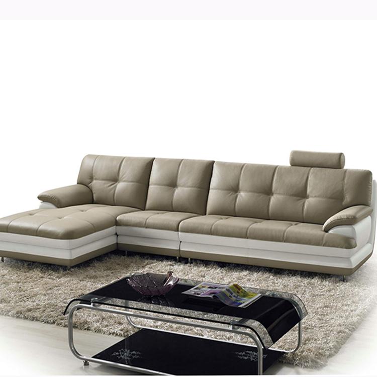 Living Room Furniture Modern New Latest Design Apartment L Shaped Corner  Leather Sofa - Buy Corner Leather Sofa,L Shaped Sofa,Leather Corner Sofa ...