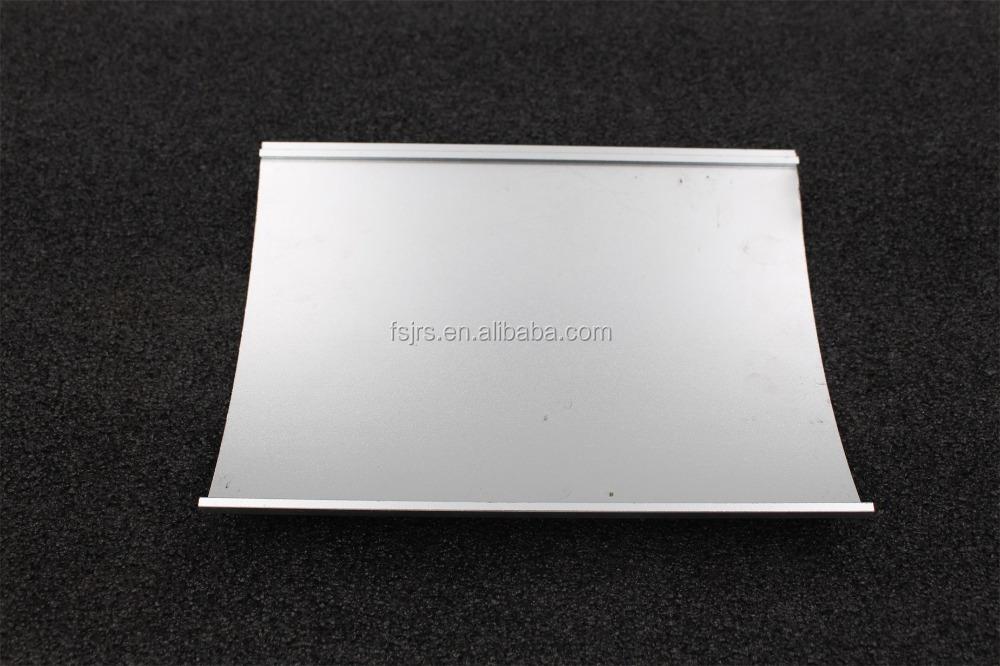 FSJRS бескаркасная алюминиевая белая U-канальная система ограждения