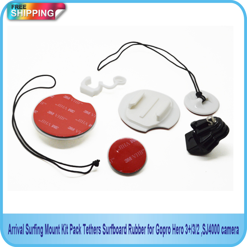 Free Shipping!!Arrival Surfing Mount Kit Pack Tethers Surfboard Rubber For