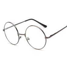 DCM, новинка, унисекс, винтажные круглые очки для чтения, металлическая оправа, Ретро стиль, для колледжа, очки, прозрачные линзы, очки(Китай)
