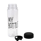 Bottle Iced Tea Plastic Bottle For Water Customize My Bottle 500ml Plastic Water Bottle For Iced Tea And Beverages