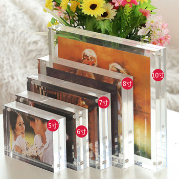 Hot Sale Custom Magnetic Acrylic Photo Frame Good Quality Acrylic Picture Frame Best Gifts With Factory Price