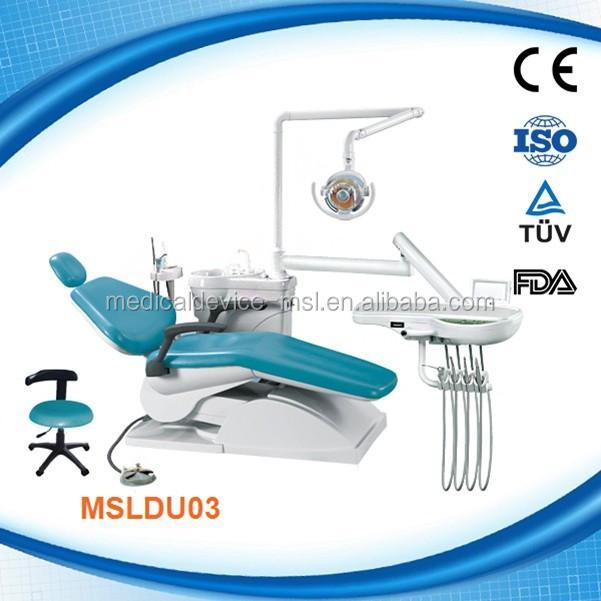 CE & ISO:13485 MSLDU03H Высококачественная портативная стоматологическая установка, стоматологический инструмент