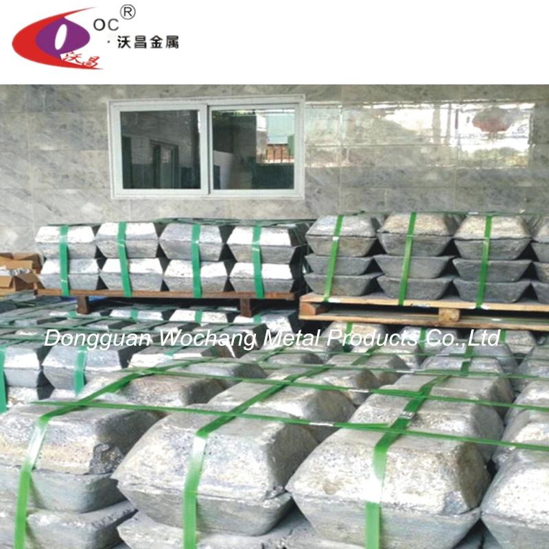 Factory supply directly pure antimony lump ingot metal 99.90