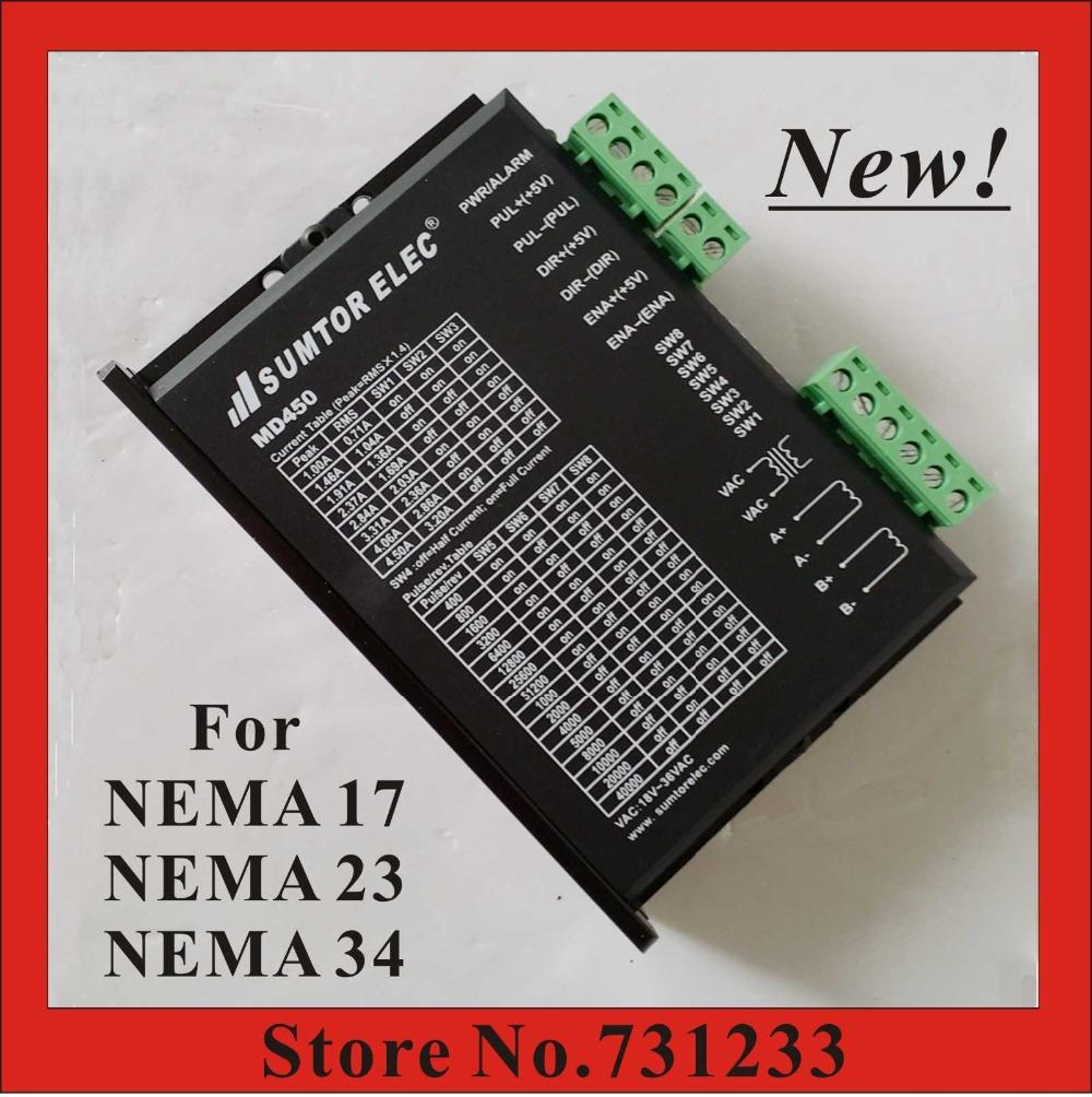 buy new cnc stepper motor driver md450. Black Bedroom Furniture Sets. Home Design Ideas