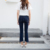 2018 elastic trousers slim skinny pencil pants for women summer crop jeans