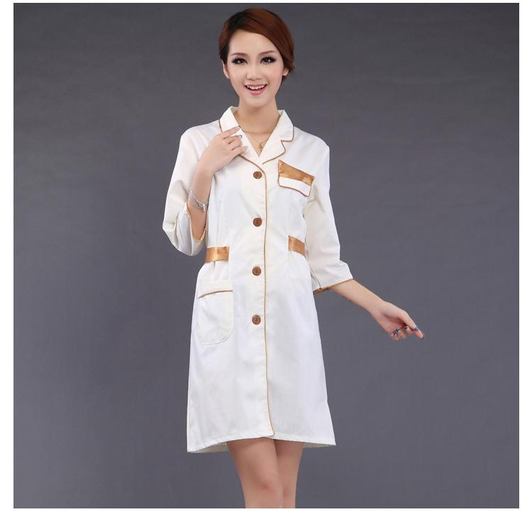 Popular beauty uniforms tunics buy cheap beauty uniforms for Spa uniform china
