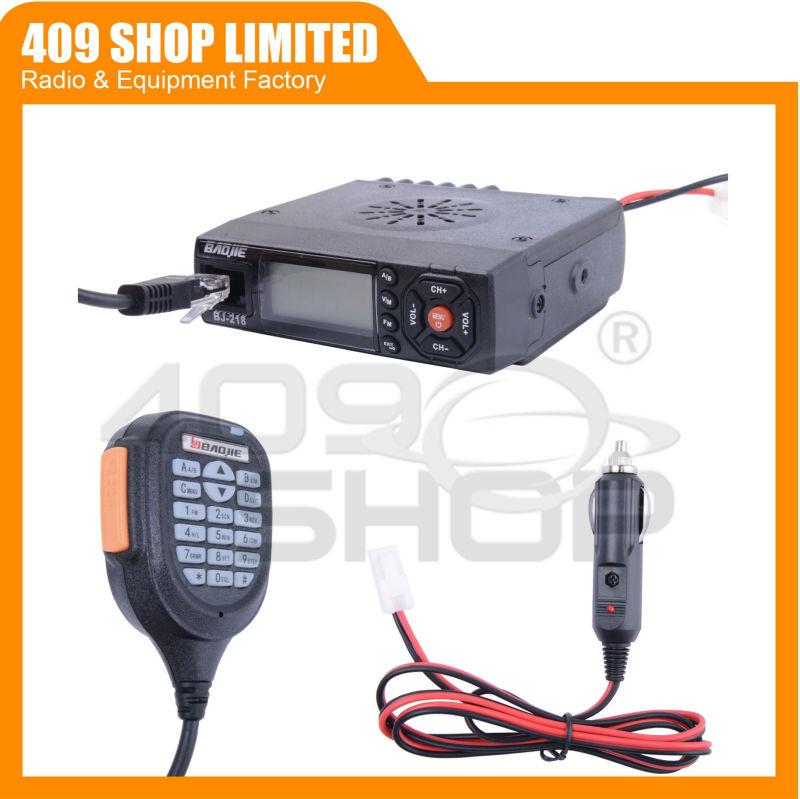 Мини мобильной радиосвязи Baojie BJ-218 укв / UHF 136 - 174/400 - 470 мГц мини мобильный радиоприемопередатчиком