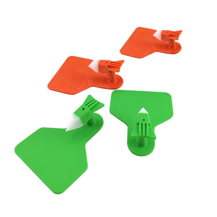 Custom 13.56Mhz RFID NTAG 213 215 216 Chip Tracking Management Cow Ear Tag