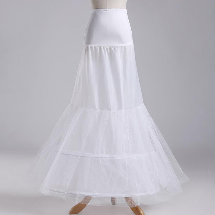 Mermaid Petticoat Prom Gown Crinoline Slips Underskirt For Mermaid Wedding dress