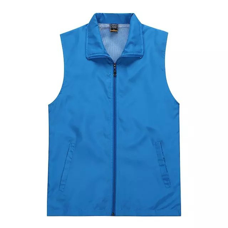 Advertising vests custom worker clothes volunteer activities laminated vest promotional enterprises customized vest