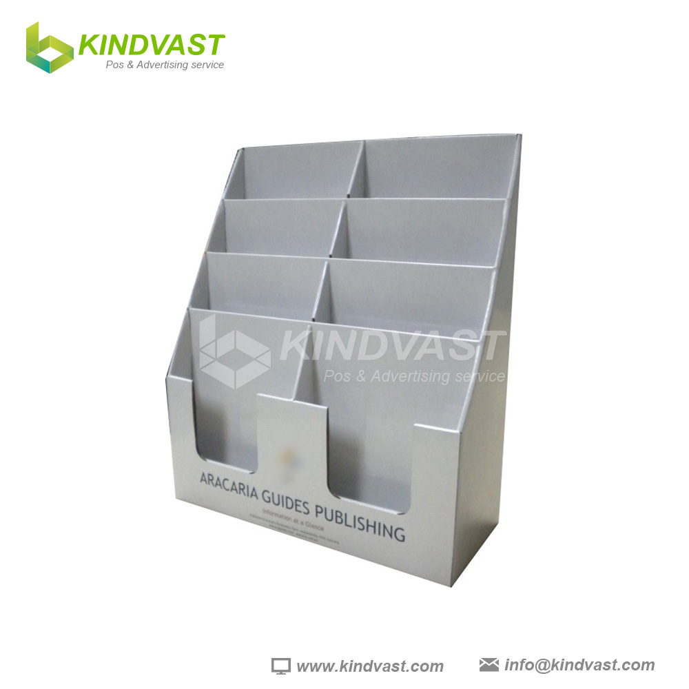 Cardboard Brochure Holder,Pdq For Magazine,Counter Top Display For ...