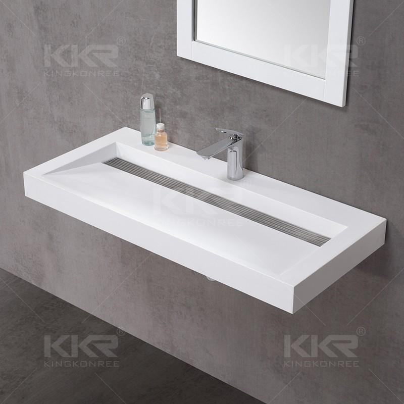 Solid Surface Long Narrow Bathroom Basin Buy Bathroom Basin Long Narrow Bathroom Basin Long Bathroom Basin Product On Alibaba Com