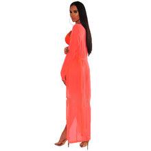 Неоновый зеленый розовый сексуальный комплект из 3 предметов женский бюстгальтер на тонких бретелях Топ и пляжные шорты и длинный кардиган ...(Китай)