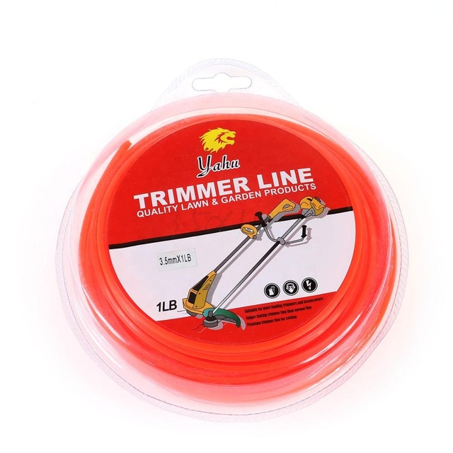 Trimmer Line Professional COMMERCIAL String Weed Eater line For Grass Trimmer/Edger nylon line trimmer string