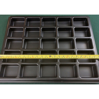Sweldler OEM vacuum forming Good molded abs plastic tray thermoforming parts&tray with competitive price