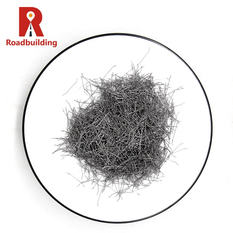 Измельченные нити из бетонного волокна, преимущества из нержавеющей стали, армированного бетона, концевой крючок из стали