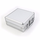 Plastic domino blocks toy game double 12 Mexican train dominoes set in aluminium case 91 tiles