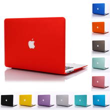 NEW Matte Case For macbook Air 11 13 Pro Retina 12 13 15 laptop bag case For Apple Mac book 13.3 inch with logo
