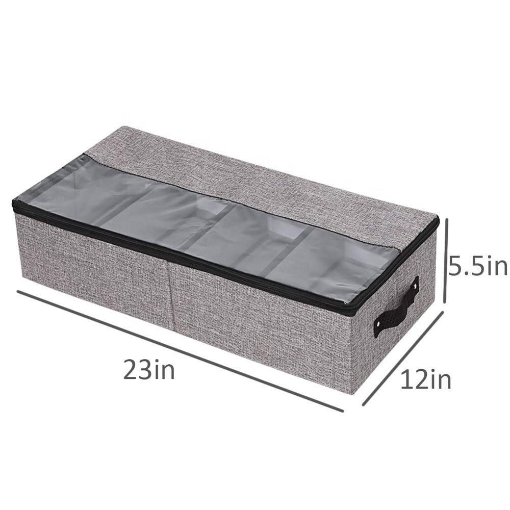 Органайзер для одежды, обуви, сумки под кроватью, коробка для хранения со съемными шкафами