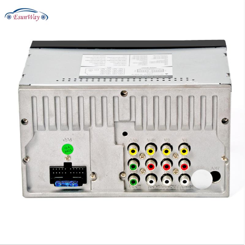Автомагнитола 2 din с сенсорным экраном 7 дюймов, мультимедийный плеер с поддержкой MP5, USB, TF, FM, камеры