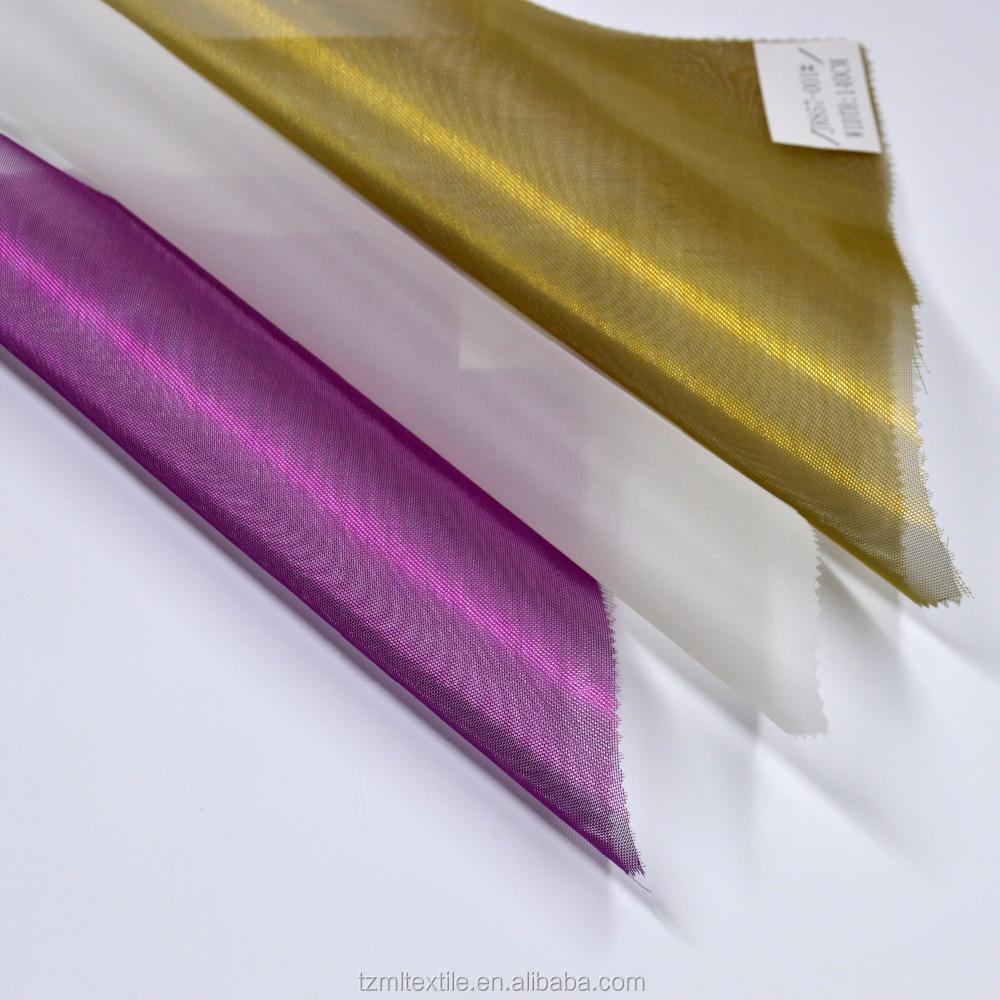 20D 100% Полиэстеровая Тюлевая ткань для детского платья-пачки