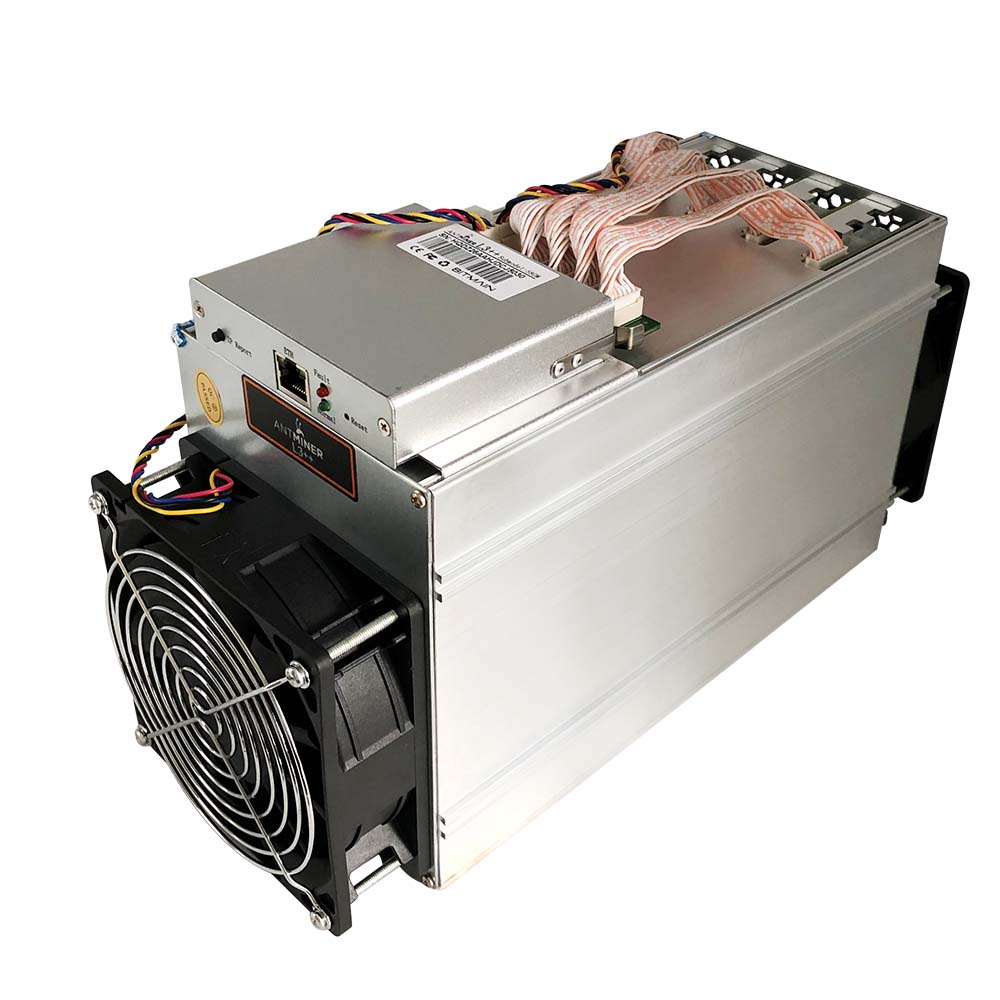 Used Antminer L3++ 580Mh/s Algorithm Scrypt 850W Power Consumption Litecoin miner with PSU ready to ship