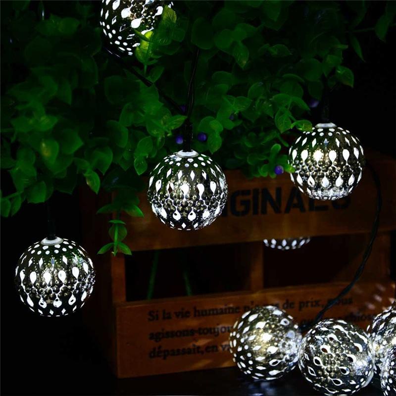 new arrive 10led 11ft solar powered fairy moroccan lantern. Black Bedroom Furniture Sets. Home Design Ideas