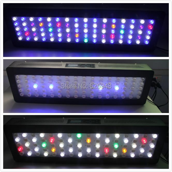 Wireless Dimmable Sunset Sunrise 90w Led Aquarium Light: 120w180w240w 36inch PLC80 Programmable Led Aquarium Light