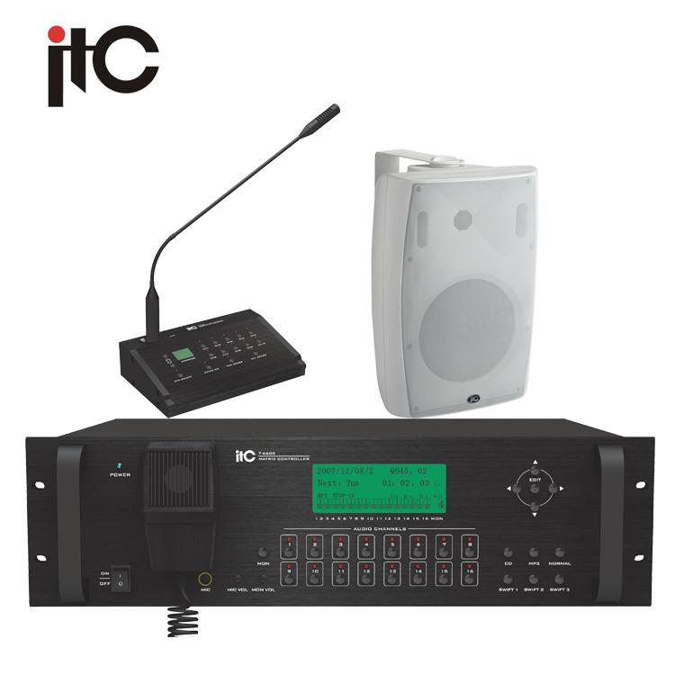 Sound Craft Public Address 16 Zone Intelligent Top PA Systems