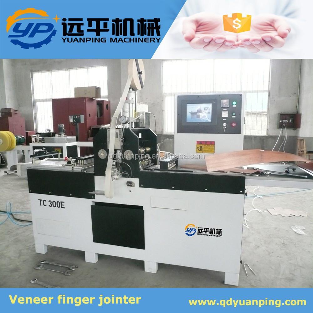 Veneer finger jointer