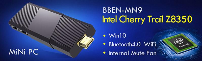 Bben MN9 Mini PC Windows 10 Ubuntu OS Intel Z8350 CPU Intel