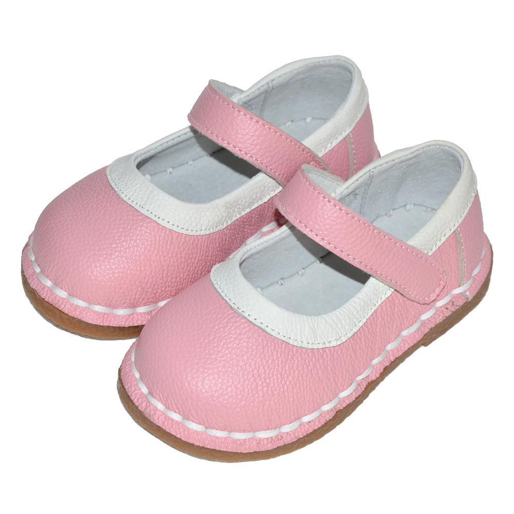 Ботинки из натуральной кожи для маленьких девочек, прочные Мягкие Туфли Мэри Джейн с острым носком, обувь для вечеринки