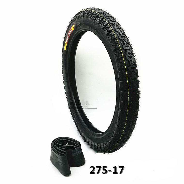 275 17 pouce cg125 jh70 dirt bike moto jante pneu pneu avec tube int rieur roues pour. Black Bedroom Furniture Sets. Home Design Ideas