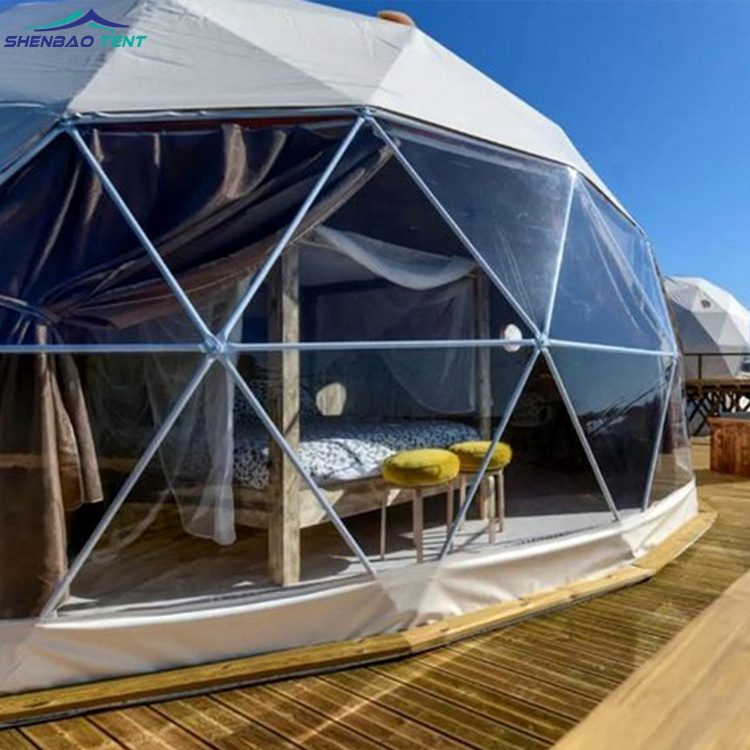 Luxury Outdoor Geodesic Party Dome Tent Greenhouse For Sale