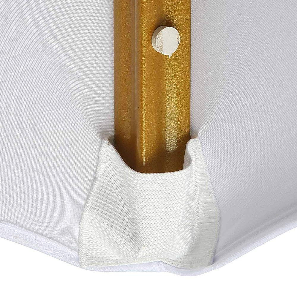 White Color Polyester Spandex Banquet Dining Wedding Party Used Chair Covers