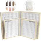 decorating Nail color Display Book 120pcs 216pcs 308pcs plastic nail color chart