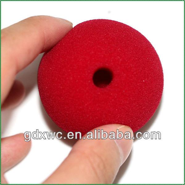 Губчатые шарики 3 дюйма, Супермягкие (набор из 4), красные, под заказ, Детские шарики для воды