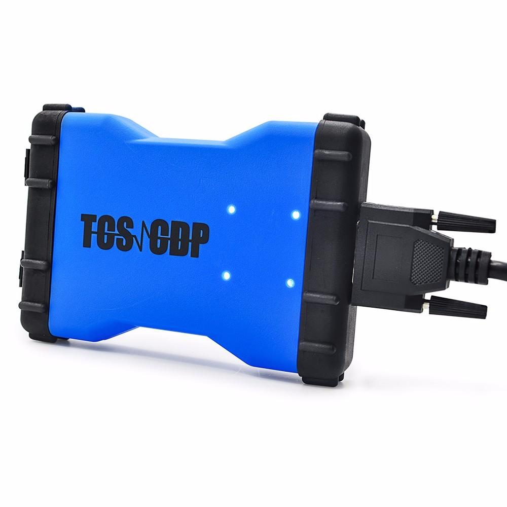התאמה מושלמת! 2014.2 R2 TCS CDP pro plus עם bluetooth +קופסא פלסטיק עם טיסה פונקצית Auto OBD2 אבחון כלי --DHL חינם