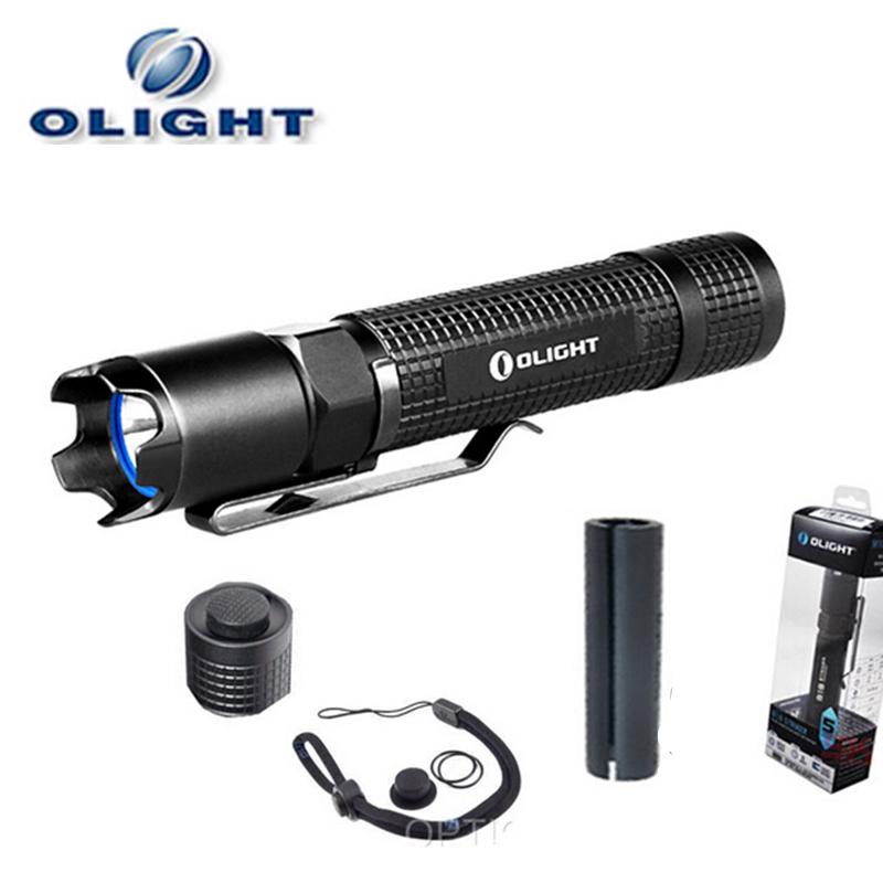 olight m18s striker led lampe de poche 800 lumens police lampe de poche led rechargeable dans. Black Bedroom Furniture Sets. Home Design Ideas