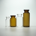 5ml Vials Bottle 5ml GMP Certified 2ml 5ml 10ml Clear Or Amber Pharmaceutical And Cosmetic Glass Bottle Vials