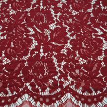 Полое позиционирование цветов 1,5 м * 1,5 м вышивка ресниц кружево икань хлопковый материал высокое качество французское Сетчатое платье с афр...(Китай)