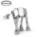 Star war AT AT Walker model hot selling 3D DIY Metal building model for adult and