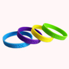 Glow In The Dark Silicone Wristband Customized Logo Cool Avicii Glow In The Dark Fluorescent Silicone Wristband From Silicone Factory