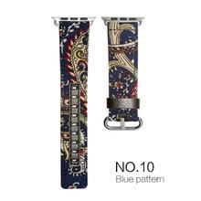 Модные стильные Ремешки для наручных часов Apple Watch 5 38 мм 40 мм 42 мм 44 мм кожаный/тканевый джинсовый ремешок Apple iWatch Series 1 2 3 4(Китай)
