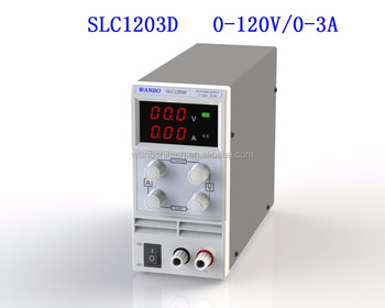 SLC1203D 120v 3a ac to dc variable switching power supply for electric appliance repair aging test with 110v or 220v ac input