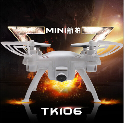 TK106 2 4g Headless mode rc mini drone with hd camera 720p with One key to