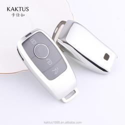 Для Benz 19 Class A \\ E \\ S \\ G Новая серия E New S класс 18 CLS \\ EQC Maybach S Чехол для автомобильного ключа ТПУ защитный чехол для ключа
