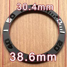 40,2 мм/38,6 мм/38 мм Керамическая рамка вставки для RLX Ролекс Yacht-Master 116655 автоматические часы запчасти инструменты(Китай)