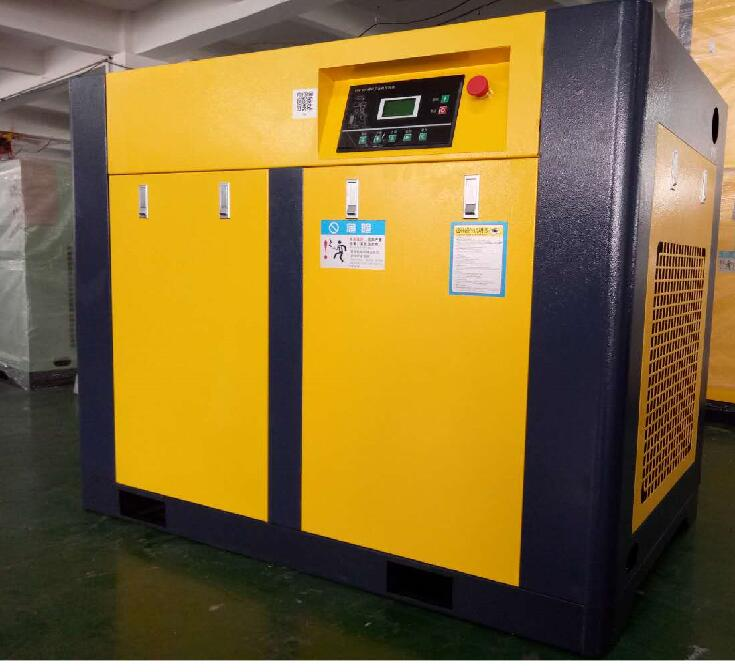 100HP 75KW Rotary Compressor Direct Driven Industrial Screw Air Compressor